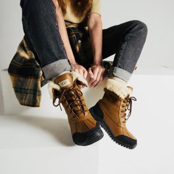 8dbadccebd6 Ugg Adirondack II Boots Women s Size 7 Like New. M 5b7df1f2129955dc47eac47f